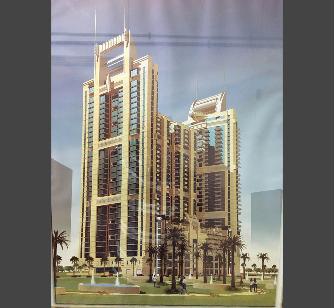 4 Mixed Towers Sharjah